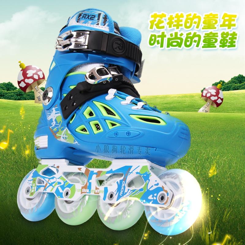 专业平花轮滑鞋_正品15款儿童专业平花鞋轮滑鞋全套装单直排轮旱冰鞋男女孩子包邮