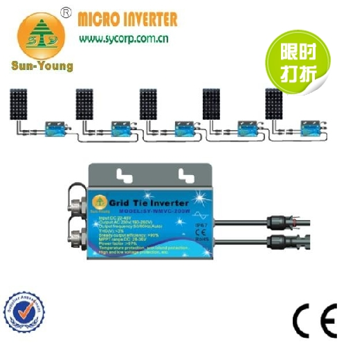 Pure Sine Wave Inverte With MPPT Function Solar Inverter