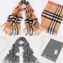 Xuan xuan home Z home with qiu dong children's scarf Grid chaddar private baby warm scarf