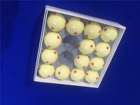 台球用品配件六点母球练习台球子白球5.7公分桌球台球
