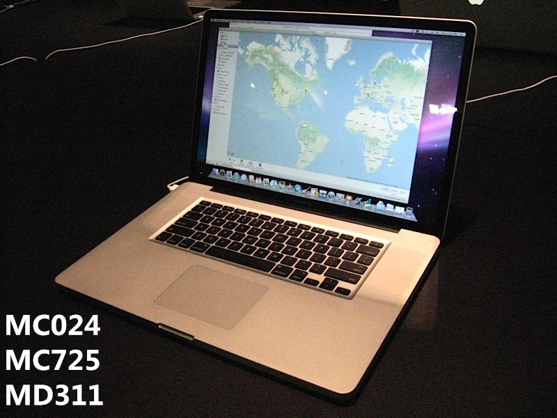 二手Apple/苹果 MacBook Pro MC024CH/A MC725 笔记本电脑 17寸