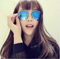 IVE reflective Sunglasses female tide classic 30253026 men and women fashion sunglasses could retro flight