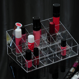 24 Grid Cosmetic For Lipstick/Lip Gloss/Mascara Holder Box