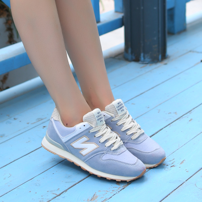 ksd2014 new shoes N word tide female Korean winter sports shoes shoes flat with shallow mouth Gump paragraph singles shoes