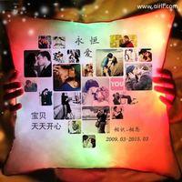女生生日礼物发光抱枕diy定制相片浪漫个性闺蜜特别实用相片礼品