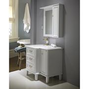 勒丁橡木浴室柜组合卫浴柜洁具卫生间大理石台面洗脸盆洗漱台盆柜