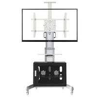 NB40~72寸移动液晶电视支架/电视移动推车/落地支架/展示架/机箱