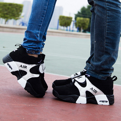 Winter Korean men's cotton shoes increased within a couple cushion running shoes for men and women sports shoes, basketball shoes trend