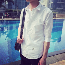 Li yi feng Hans zhang William jingboran ji chang wook and cultivate one's morality in Oxford spinning lining sleeve shirt men clothes