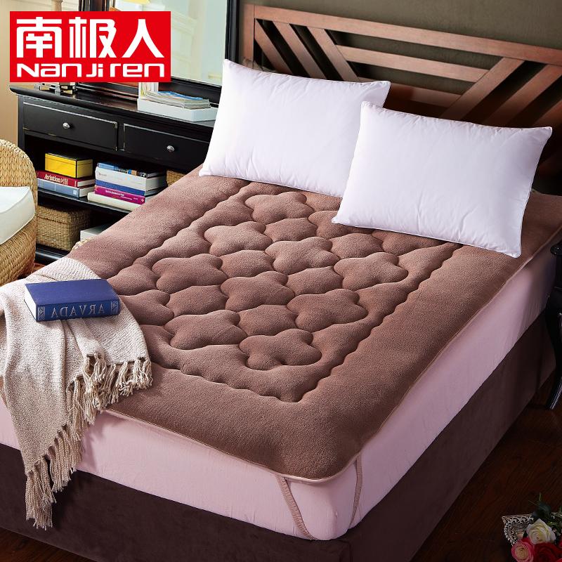 南极人 加厚珊瑚绒床垫 榻榻米单人双人床褥子学生宿舍垫被床褥