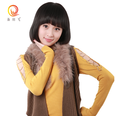 Shun Fat girls prepare Yufei brand hair really short hair oblique Liu Qi Liu optional bob wig wigs