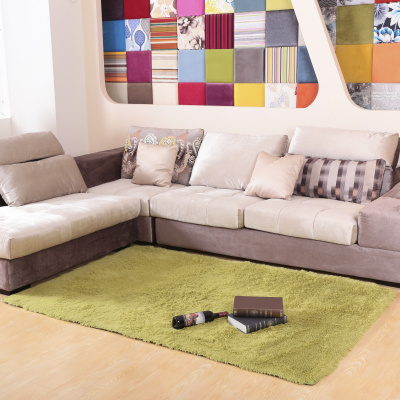 Modern minimalist living room sofa table silky thick rug carpet floor mats paved bed bedroom carpet can be customized