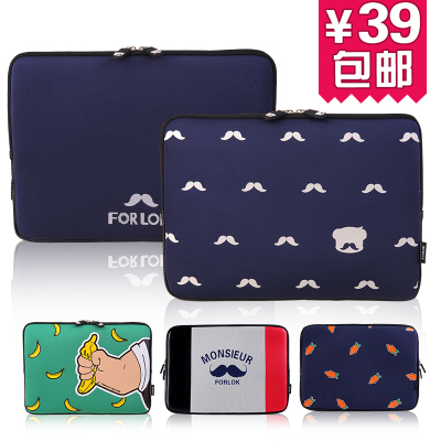 Free shipping new 12-inch 13-inch laptop bag 14 inch laptop sleeve bag men and women waterproof jacket liner Specials