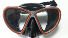 Ricky goggles lung for scuba diving equipment Diving supplies Silica gel and diving mask
