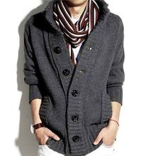Authentic semir qiu dong men sweater pirates buckle youth wool sweater coat of thickening han edition cultivate one's morality