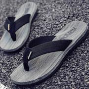 拖鞋男夏季凉拖防滑潮夹脚时尚外穿男士凉鞋沙滩鞋室外人字拖