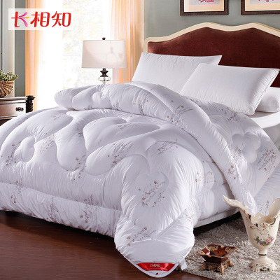 Double-known textile looks thick warm winter quilt to be the core of lavender Xiang Fei 1S speed hot bedding