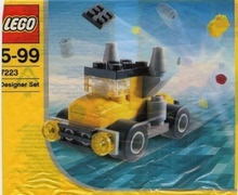 LEGO Creator: Wheelers Set 7223 (Bagged)