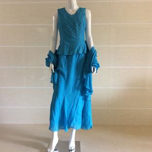 意大利ALTA MODA 手工钉珠 OL时装裙(三件套)