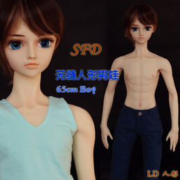 LD人形SFD无缝男娃Seamless Figure Doll 身体也可接SD bjd头部