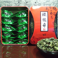 Package mail tieguanyin anxi tieguanyin tea costumers qing scent super tao COINS oolong tea fresh tea tin box