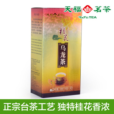 Tenfu tea Osmanthus oolong tea - S7 selected golden osmanthus aroma Authentic desktop tea leisure tea
