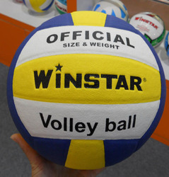 winstar18片PU贴皮5号排球 PU  lamianted volleyball