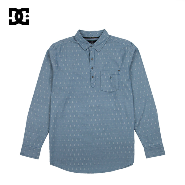 dcshoecousa Dcshoes pointed collar long-sleeved cotton shirt movement ADYWT03001