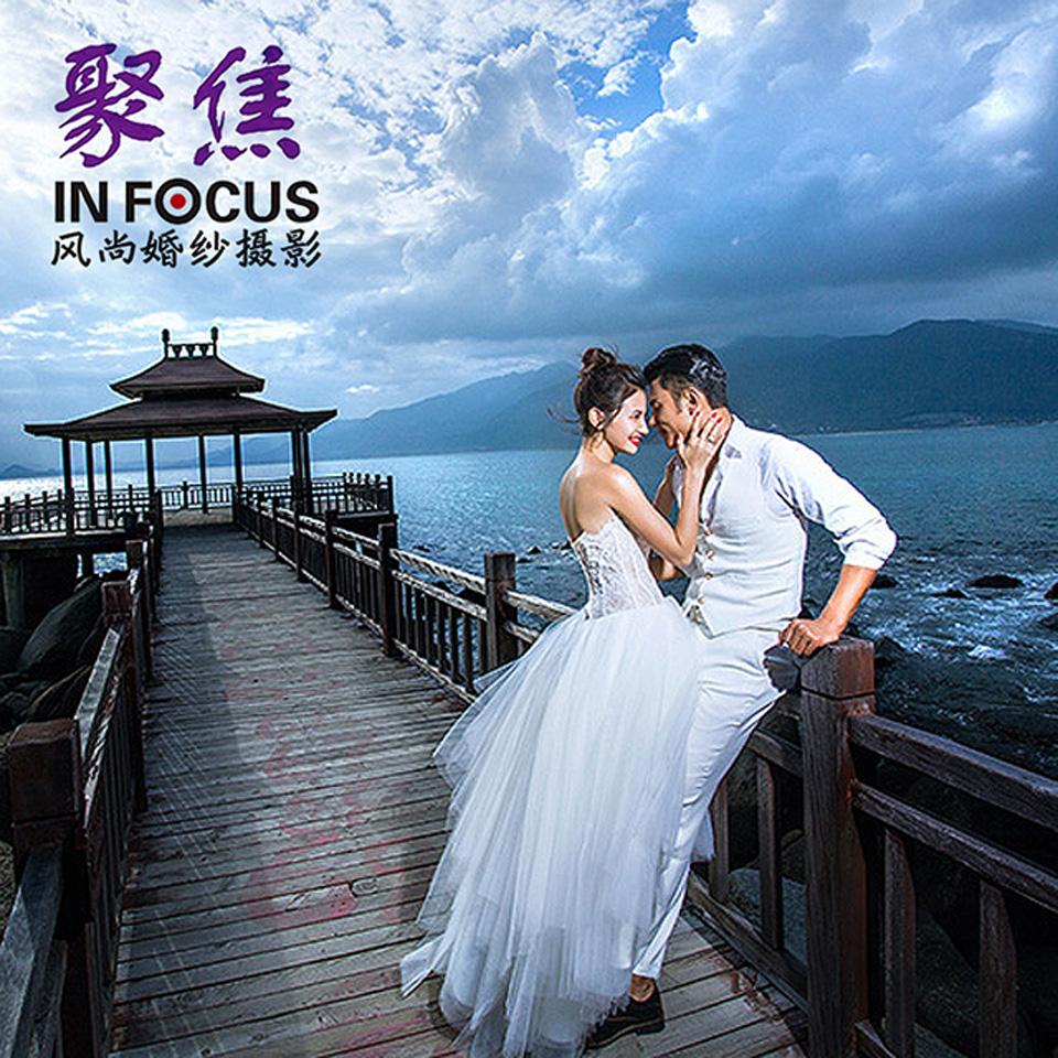 聚焦旅游婚纱摄影三亚青岛北京拍旅游婚纱照团购四天三晚住宿