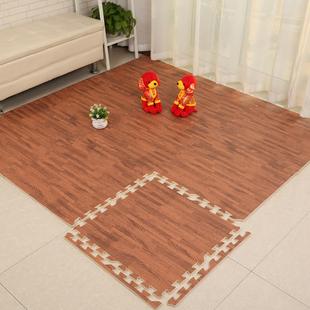 天利地垫仿木纹泡沫地板垫卧室家用环保无毒婴儿房地垫拼接爬爬垫