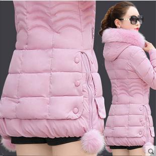 反季棉衣女中长款冬羽绒棉服加厚大码显瘦外套棉袄潮