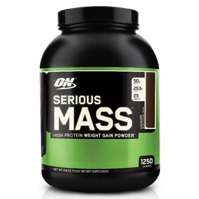 ON/Optimum Serious Mass Weight Gainer PROTEIN 6 lbs