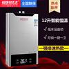 燃气热水器 天然气液化气恒温12升家用煤气强排式8升10L即热洗澡