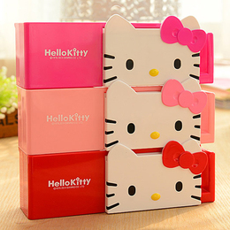HELLO KITTY吸盘牙刷架