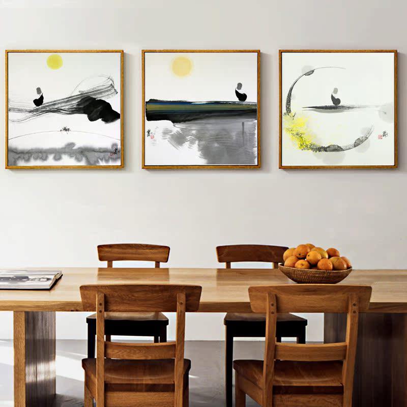 ... 画玄关餐厅壁画书房油画墙画沙发背景墙禅意挂画