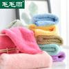 6条超强吸水卸妆洗脸大方巾清洁柔软小毛巾四方手帕子巾