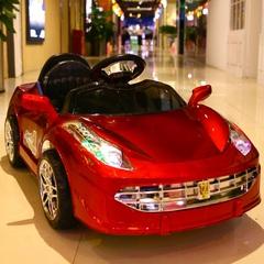 儿童电动车四轮汽车1-3岁4-5遥控男孩女孩童车小孩玩具可坐人充电