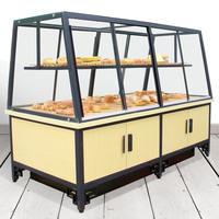 2016新款面包柜铁艺中岛面包展架大橱窗面包中岛柜
