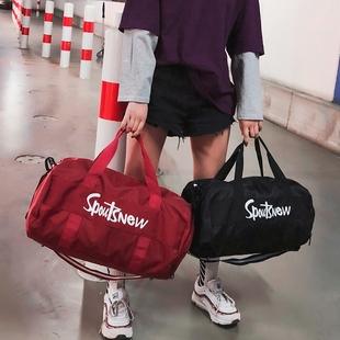 健身包女运动包潮男干湿分离训练包大容量手提网红短途旅行包