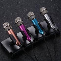 手机麦克风 迷你K歌小话筒台式电脑专用电容麦唱歌