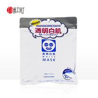 日本直邮石泽研究所 透明白肌 豆乳保湿美白面膜 10片装