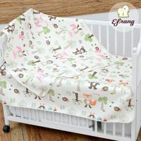 婴幼儿床品婴儿纯棉隔尿垫宝宝防水防漏床单超大透气可洗韩国进口