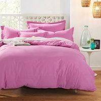 定做纯色纯棉四件套全棉素色被套床单撞色床上1.2m床1.5/1.8/1.0