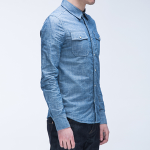 捭和(BAI-HE DENIM)BLITON SHIRT L/S 普里顿有机衬衫