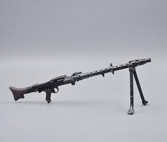 21世纪正版散货兵人配件散件 16二战德国MG34狙击机模型