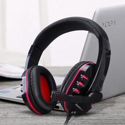 台式机通用语音耳麦头戴式重低音lol游戏 笔记本电脑耳机带麦克风