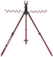 达亿瓦Daiwa钓鱼支架架竿器投竿支架三脚支架MULT ROD STAND 红色