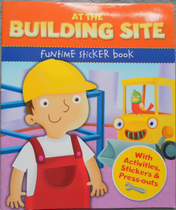 儿童活动书 汽车模型At the building site funtime sticker book 价格:16.00