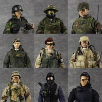 兵人模型 1:6 二战德军 美国大兵 特种部队 军事玩具 包邮 狙击手 价格:138.00