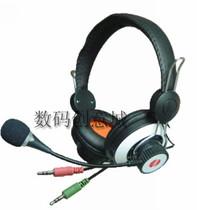 伟乐WL-8294 电脑立体声耳机 头戴式 游戏耳机 带麦克风话筒耳麦 价格:33.00